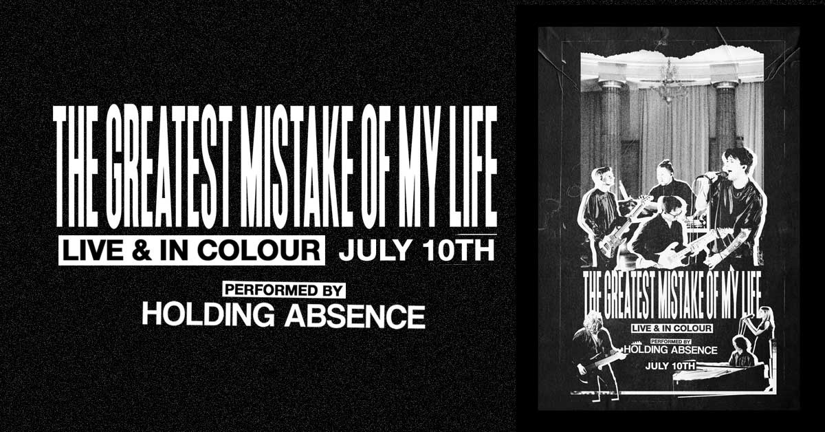 Holding Absence Live Stream